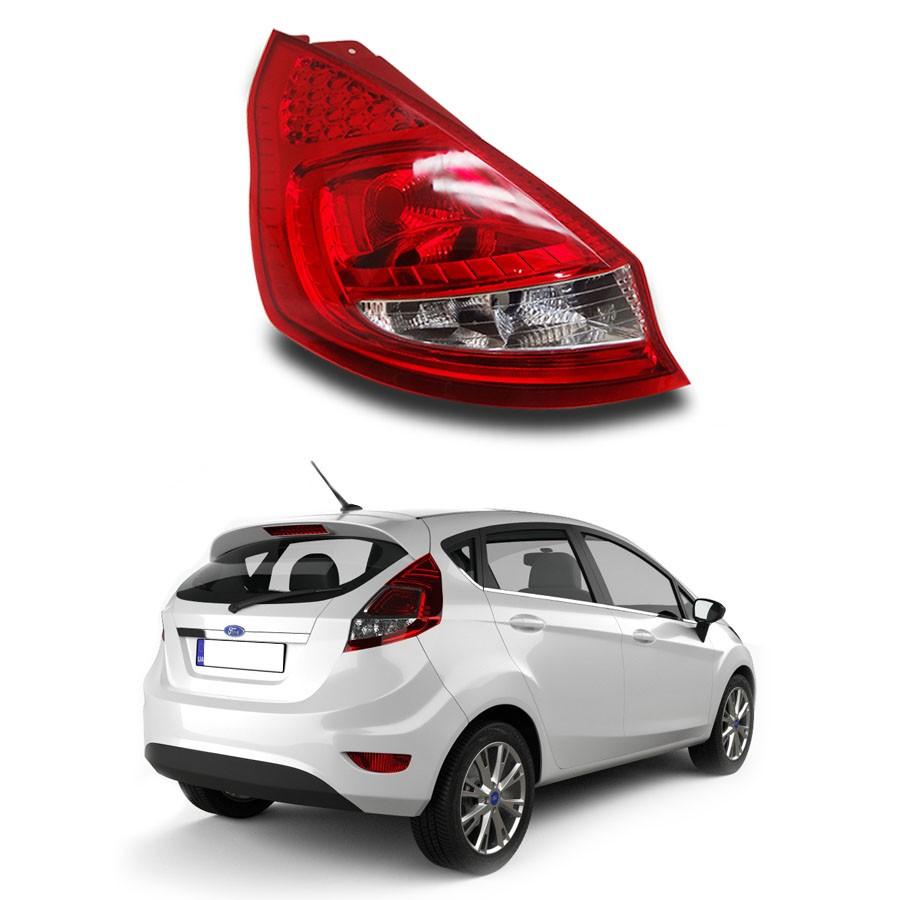 Lanterna Traseira Ford New Fiesta Hatch 10/12  lado Esquerdo Motorista Originall