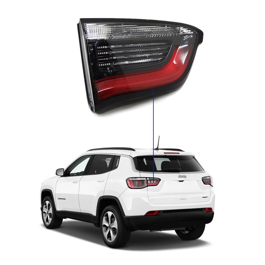 Lanterna Traseira Porta-Malas Jeep Compass 2017/... Lado Esquerdo Motorista l