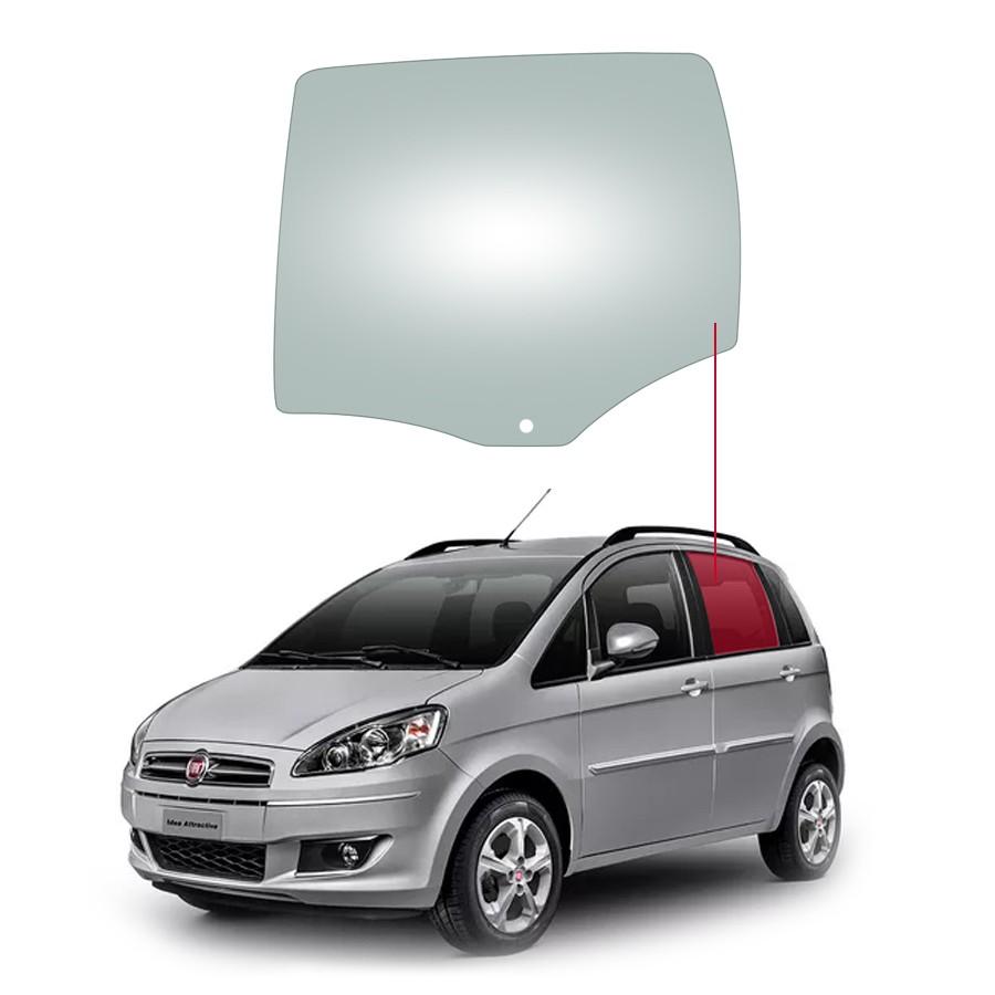 Vidro Porta Traseira Esquerda Fiat Idea 05/16 Fanavid