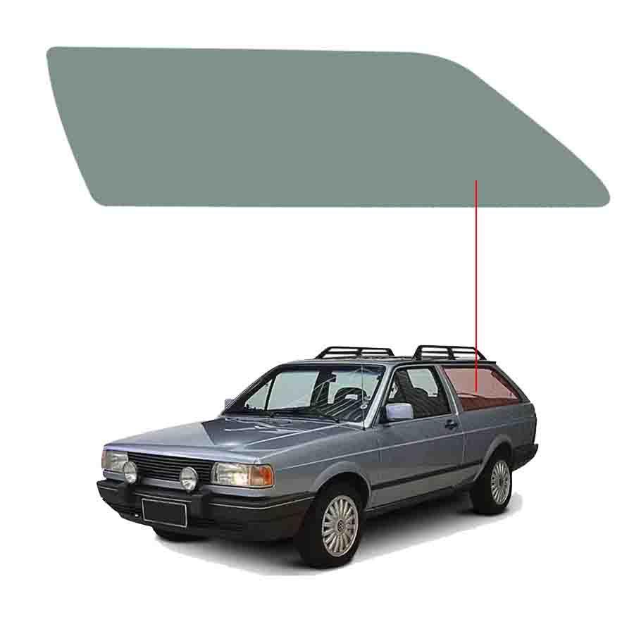Vidro Janela Fixa Esquerda Volkswagen Parati 82/95 Vetroex