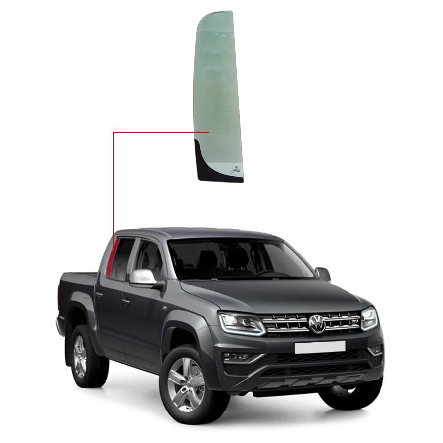 Vidro Janela Fixa Traseira Direita Volkswagen Amarok 10/17 Importadora