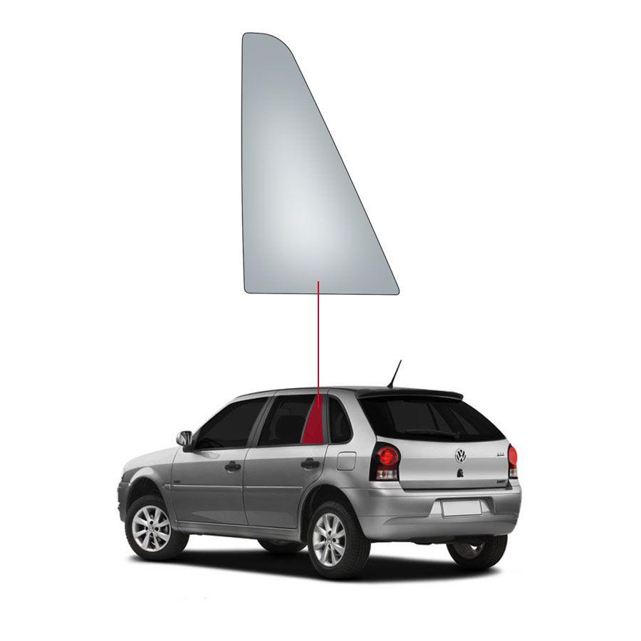 Vidro Janela Fixa Traseira Esquerda  Volkswagen Gol 94/14 Fanavid
