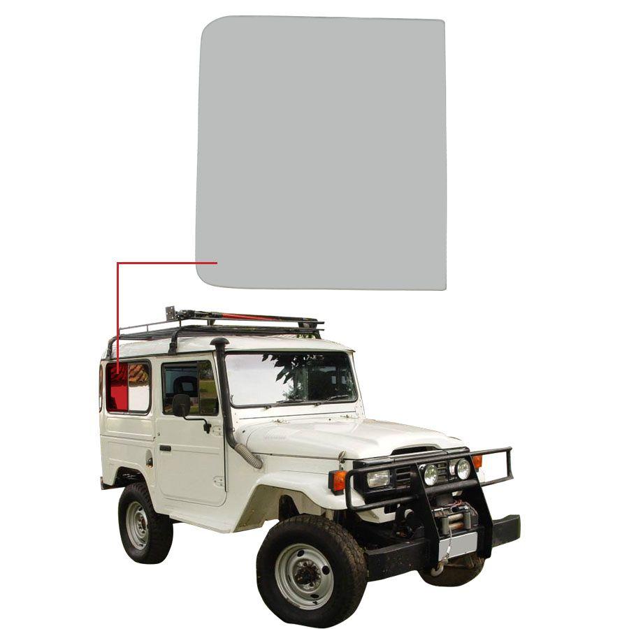 Vidro Janela Fixo Direito/Esquerdo Toyota Bandeirante 69/01 Vetroex