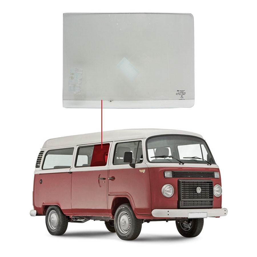 Vidro Janela Lado Direito Volkswagen Kombi 58/96 Vidro Forte