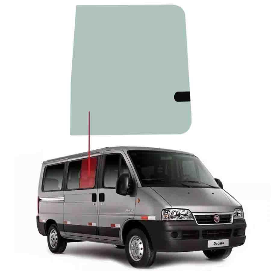 Vidro Janela Movel Direita / Esquerda Renault Master 02/13 Vetroex