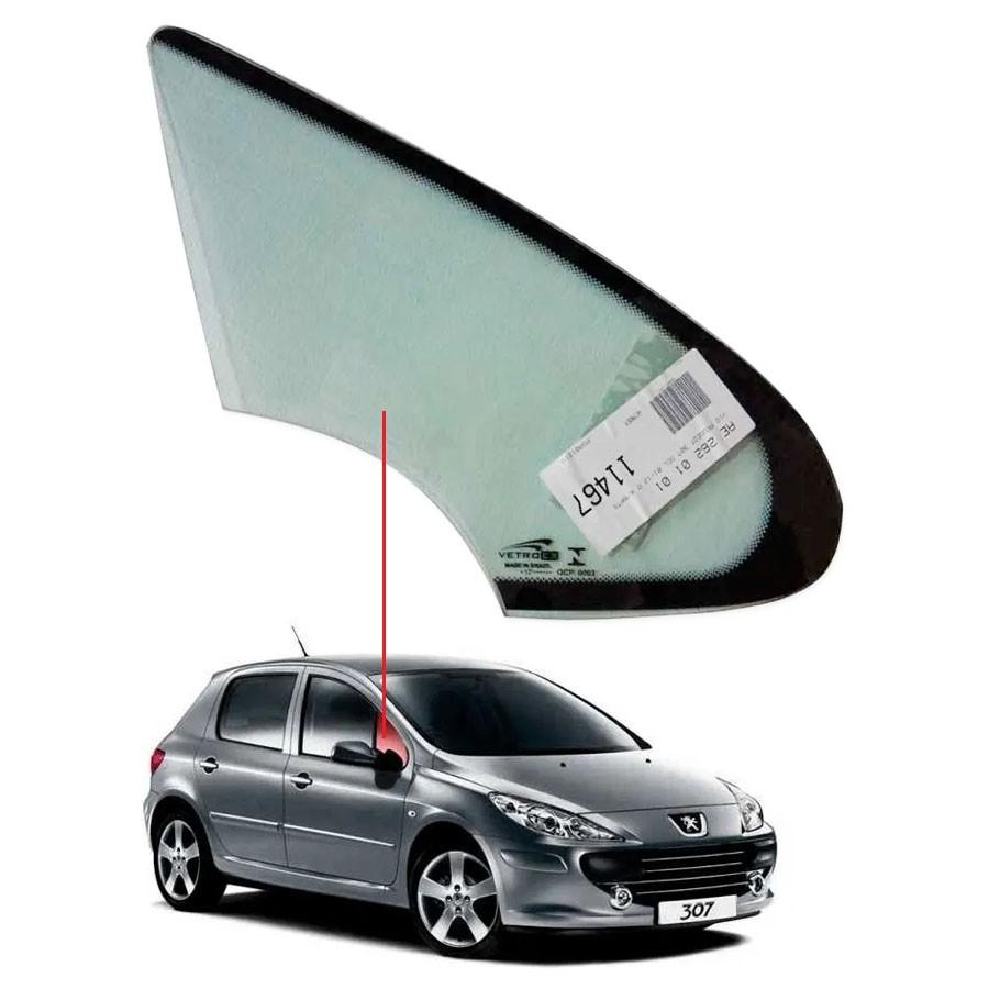 Vidro Óculo Dianteiro Direito Peugeot 307 01/12 Vetroex