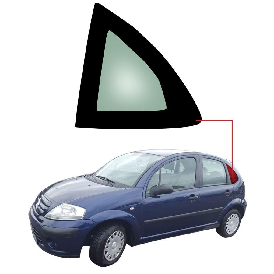 Vidro Óculo Traseiro Esquerdo Citroen C3 12/20 Pilkington