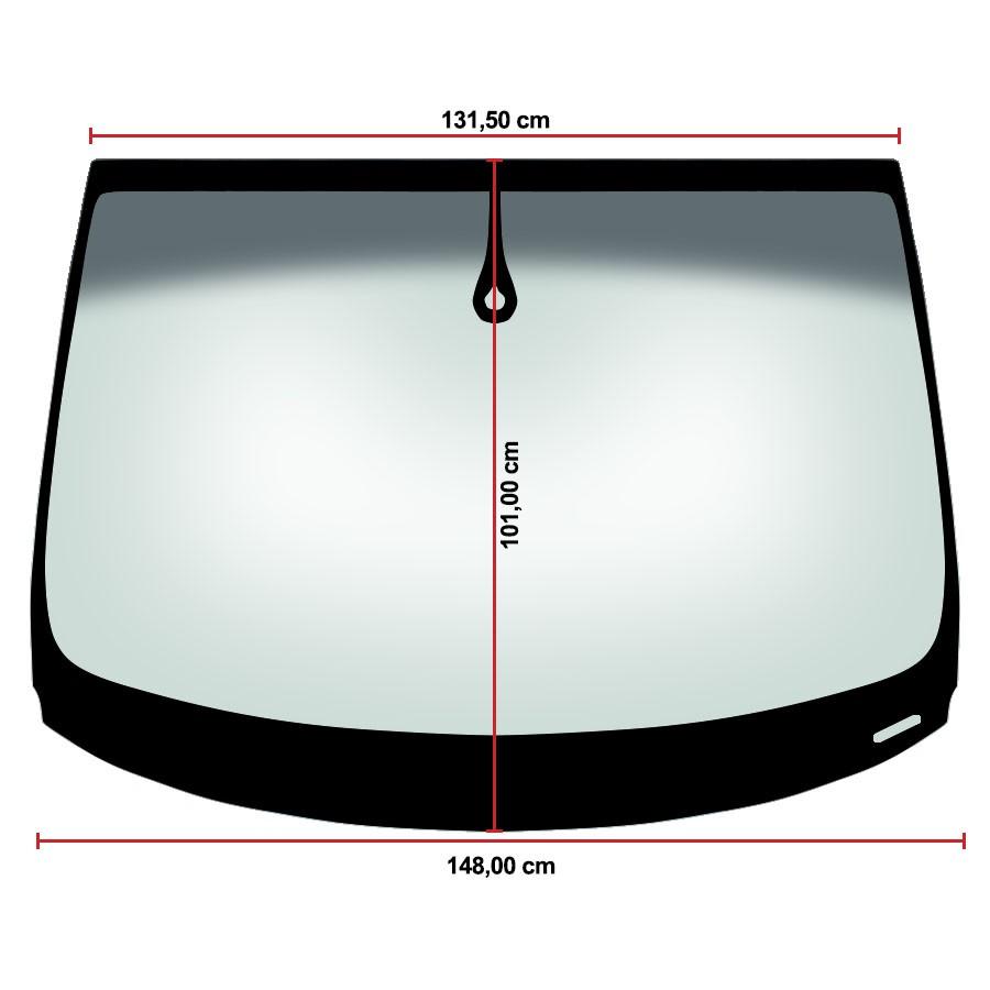 Vidro Parabrisa Audi Q7 06/15 Saint Gobain