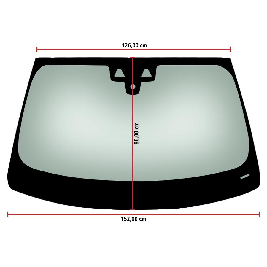 Vidro Parabrisa Com Sensores Bmw Série 5 17/20 / S 520 18/20 / M5 17/20  Importadora