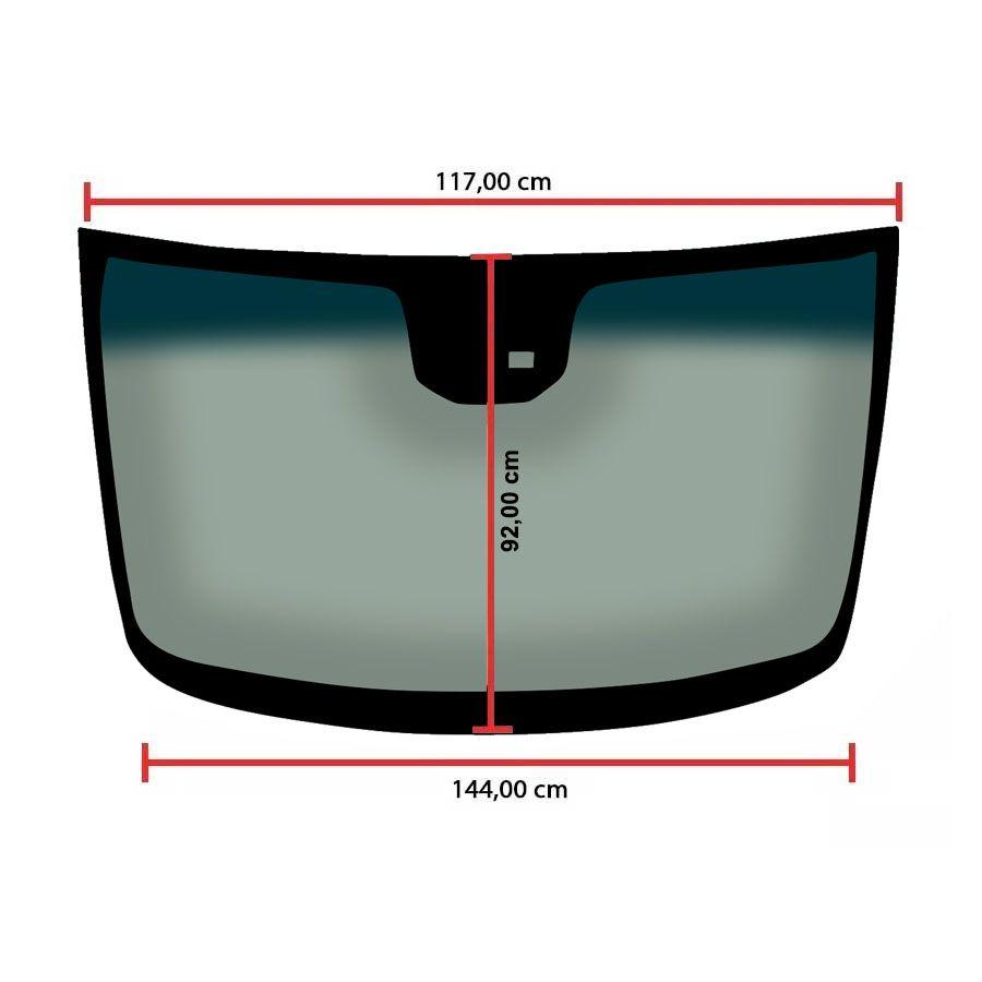Vidro Parabrisa Com Sensor Chevrolet Cruze 2011 a 2016 Glasstech