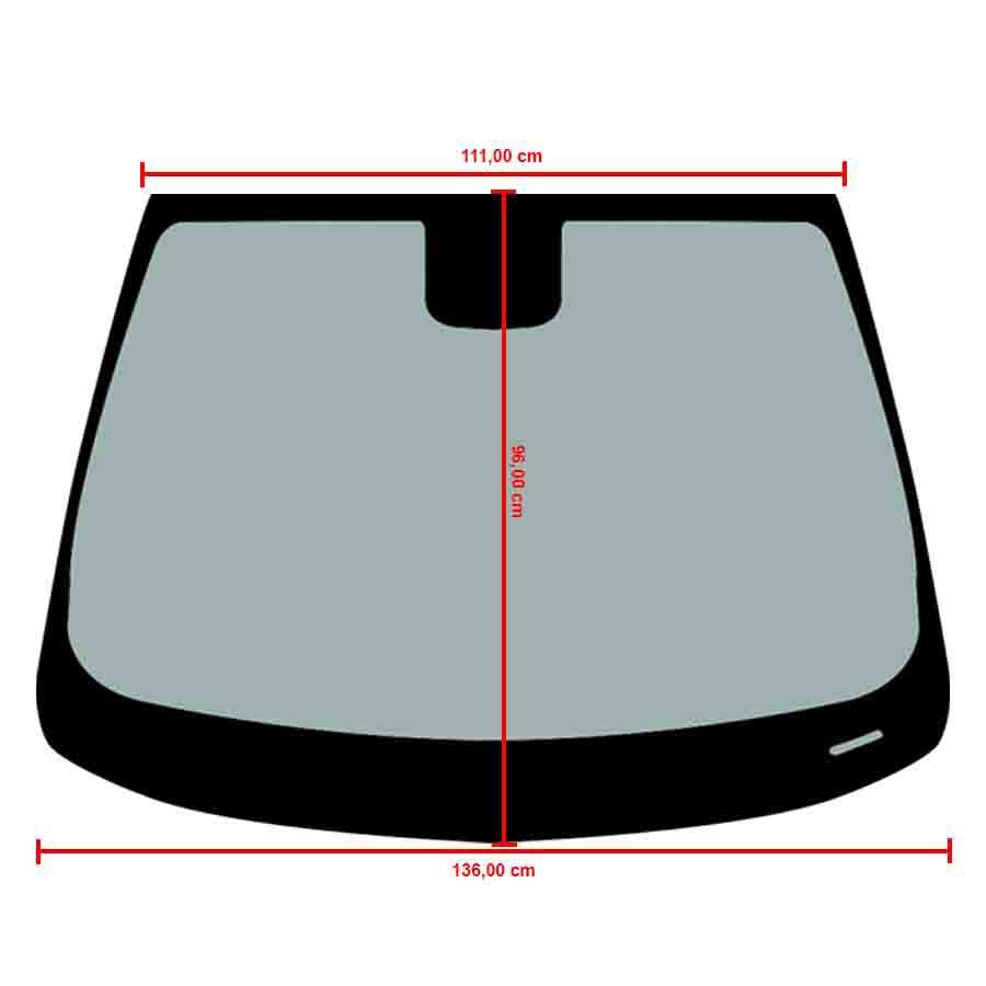 Vidro Parabrisa Com Sensor Chevrolet Tracker 17/20 Vitro