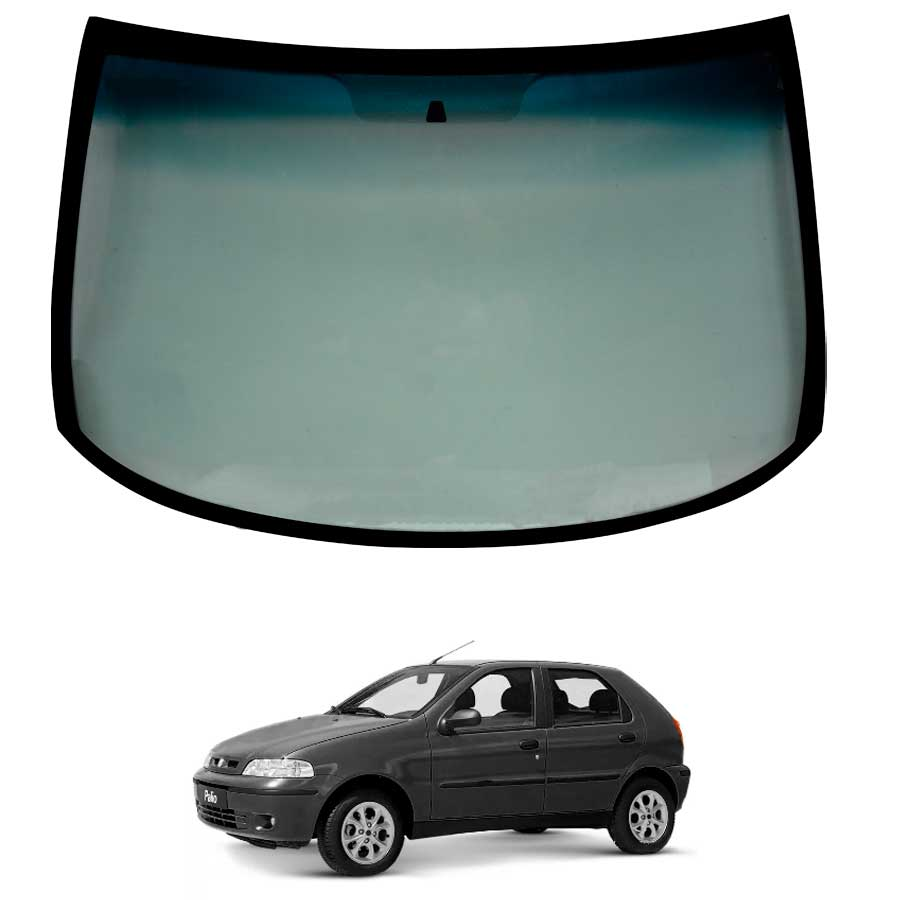 Vidro Parabrisa Fiat Palio 96/16 / Siena 96/20  / Strada 98/20 / Palio Weekend 97/20 Glasstech