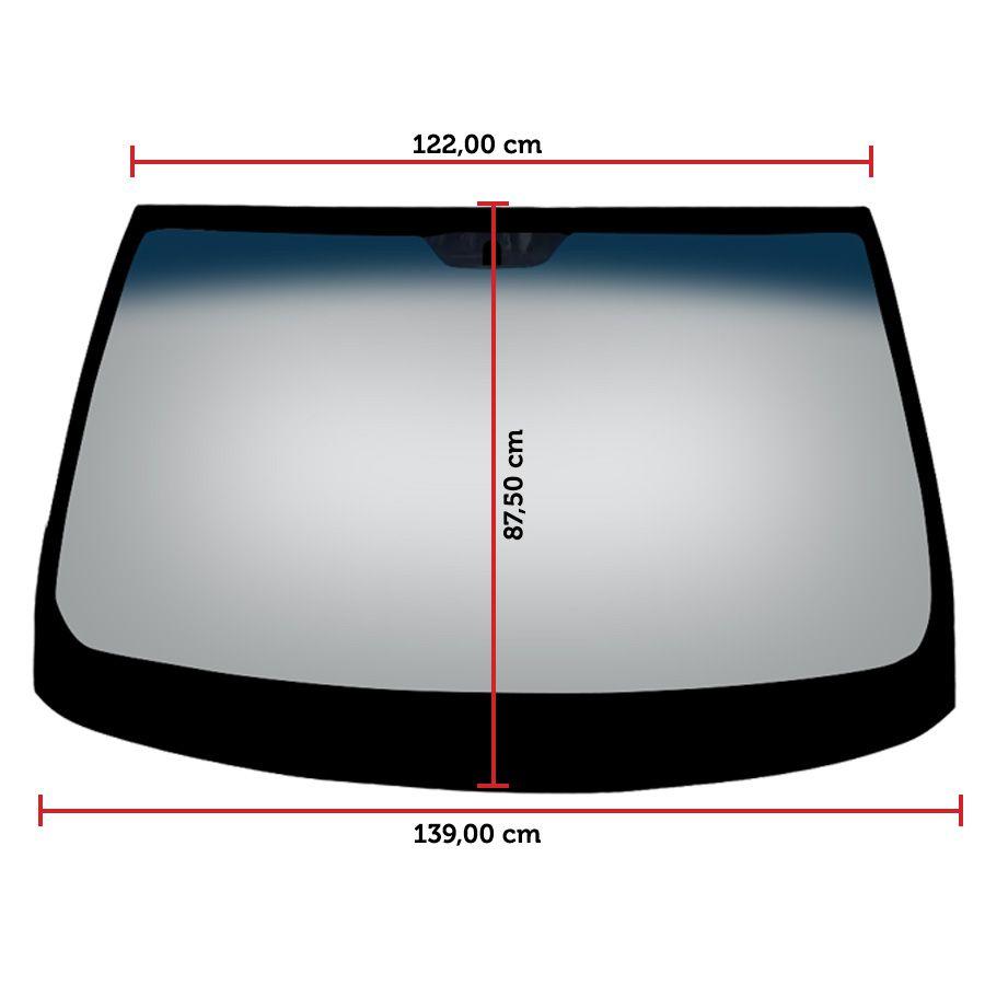Vidro Parabrisa Fiat Stilo 02/11 Glasstech