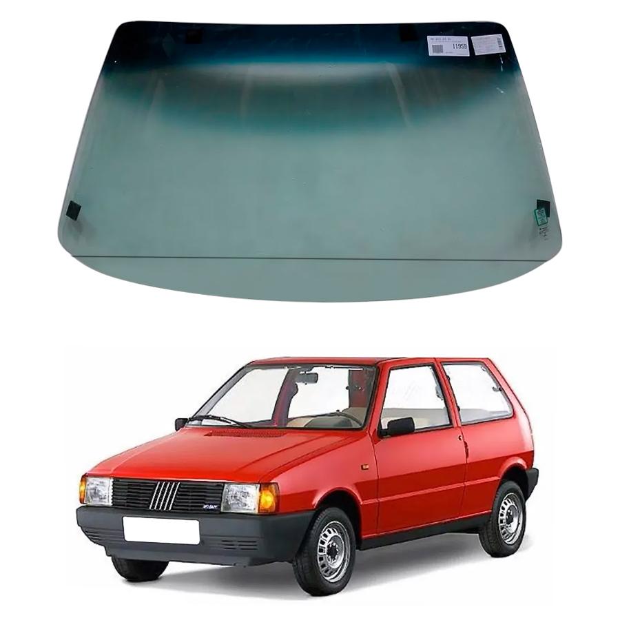 Vidro Parabrisa Fiat Uno 84/89 / Elba 86/96 / Premio 85/94 / Fiorino 88/13 Forte Parabrisas