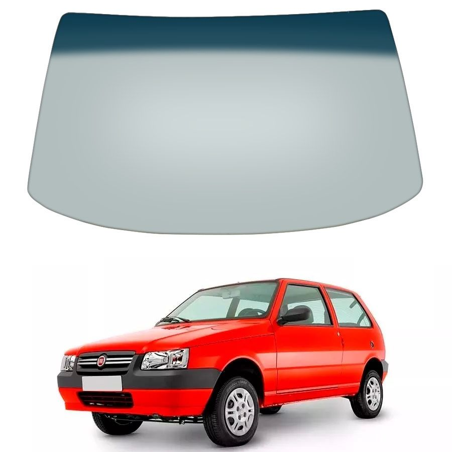 Vidro Parabrisa Fiat Uno 84/89 / Fiorino 84/13 / Elba 84/96 / Premio 84/94 Forte Parabrisas