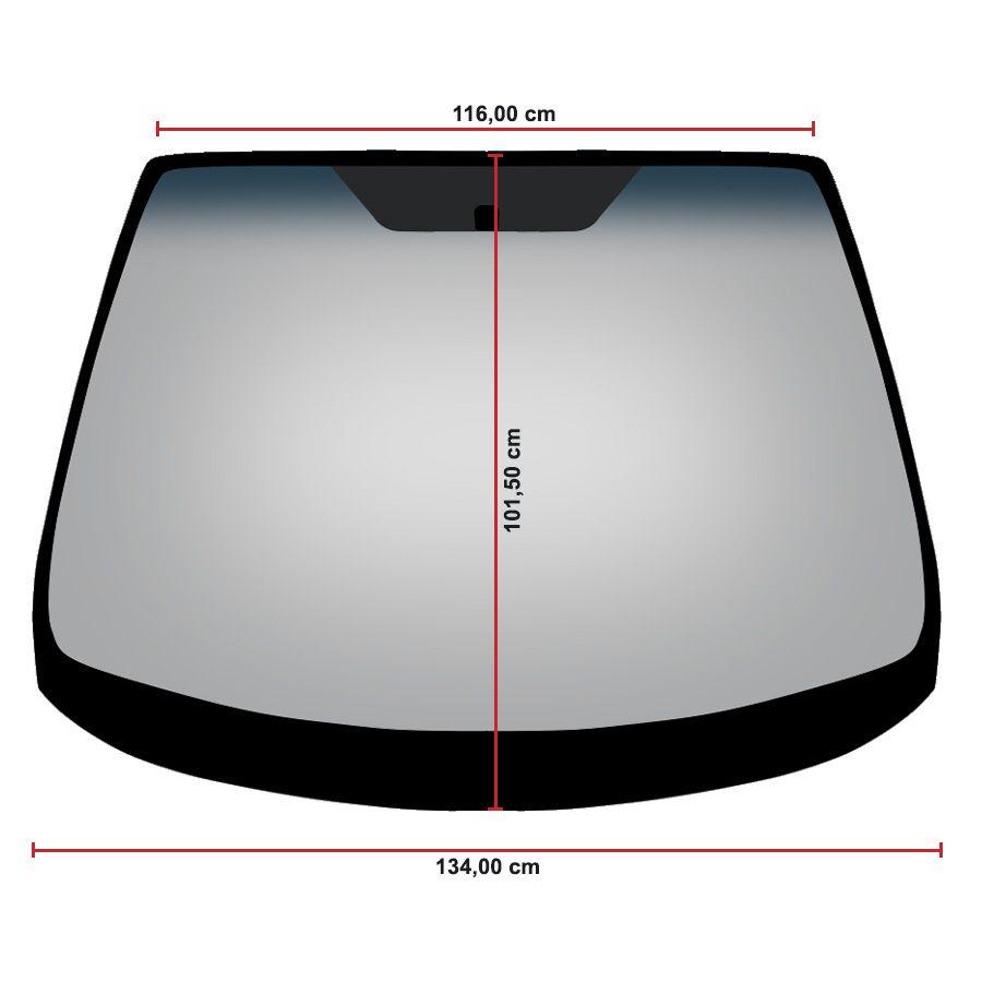 Vidro Parabrisa Ford Fiesta 12/20 Glasstech