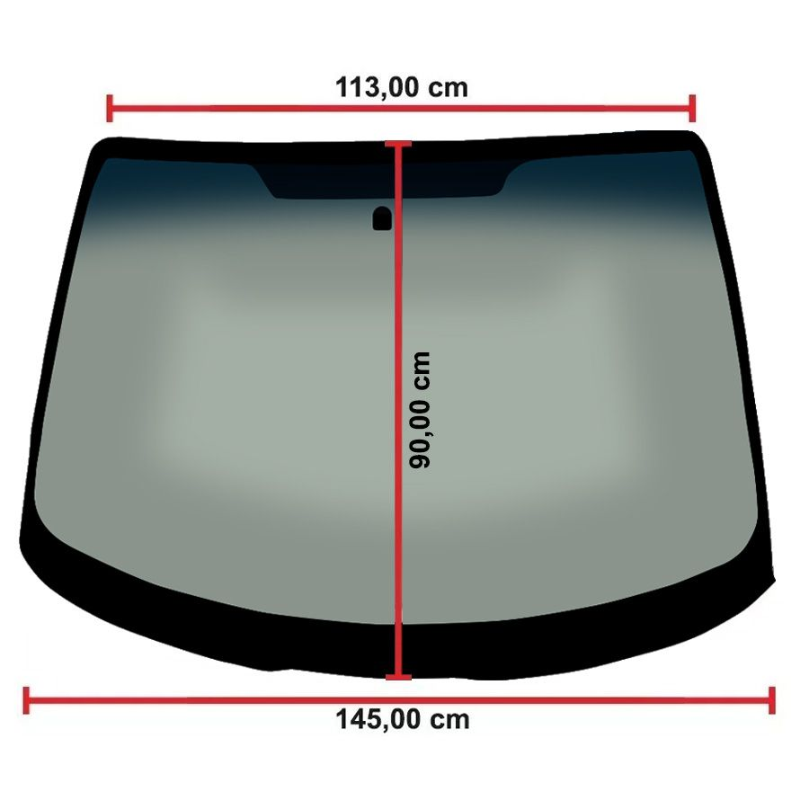 Vidro Parabrisa Ford Focus 00/09 Glasstech