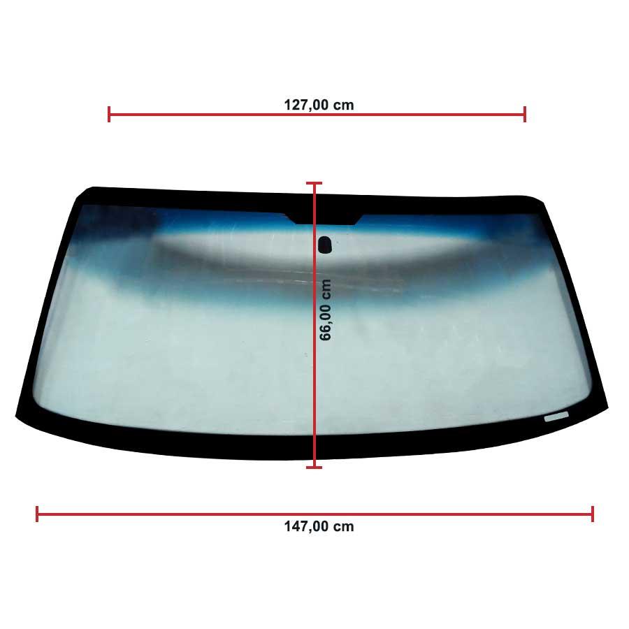 Vidro Parabrisa Ford Ranger 96/11 Glasstech