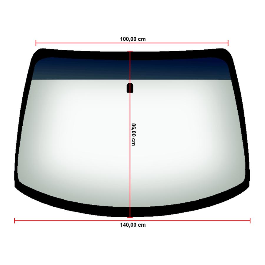 Vidro Parabrisa Honda Civic 96/00 Menedin