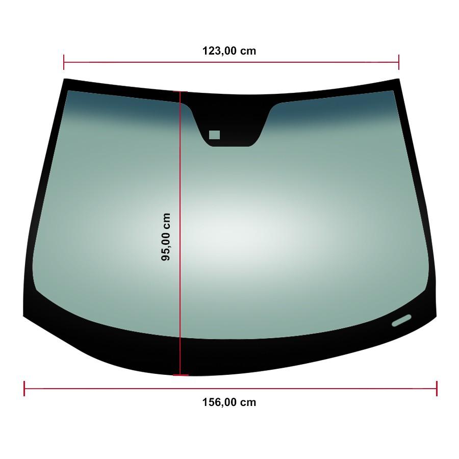 Vidro Parabrisa Hyundai Azera 06/11 Glasstech