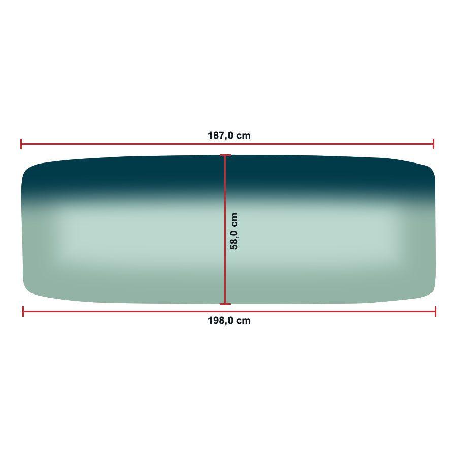 Vidro Parabrisa Mercedes Benz 1313  70/87 Cabine alta-1113/1318/1515/1516/1519/1933/2013/2220 87/13 Vitrotec