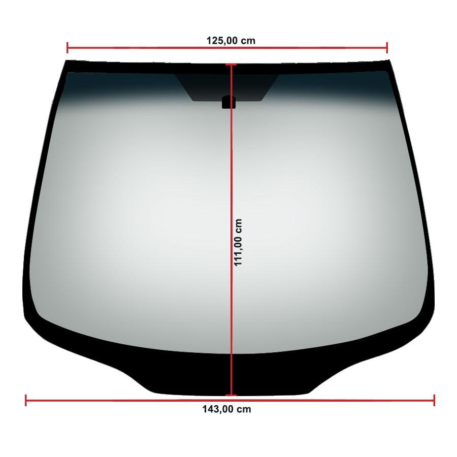 Vidro Parabrisa Mitsubishi Grandis 04/10 Fanavid