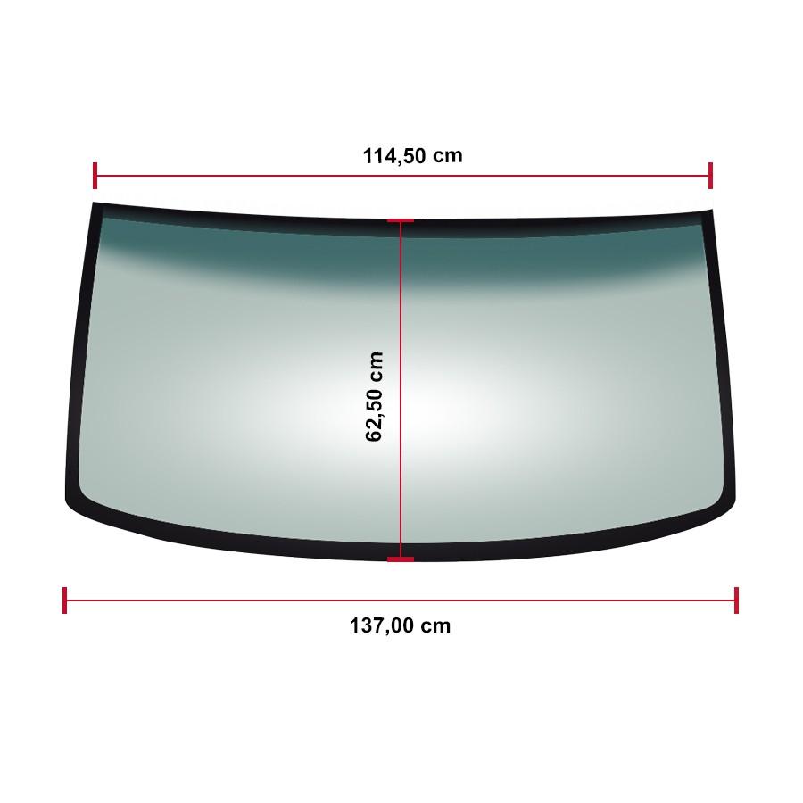 Vidro Parabrisa Mitsubishi Pajero TR4/IO 98/06 Glasstech