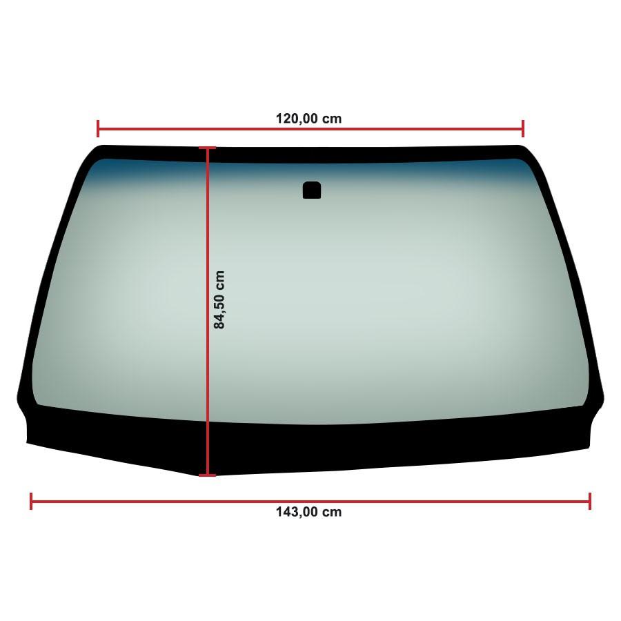 Vidro Parabrisa Toyota Hilux 16/20 / SW4 15/20 AGC