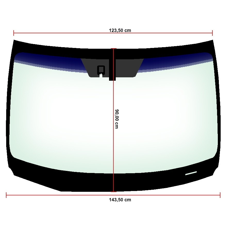 Vidro Parabrisa Com Sensor Lexus NX200 15/17 Importadora