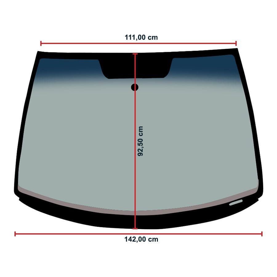 Vidro Parabrisa Volkswagen Polo 03/16 Fanavid