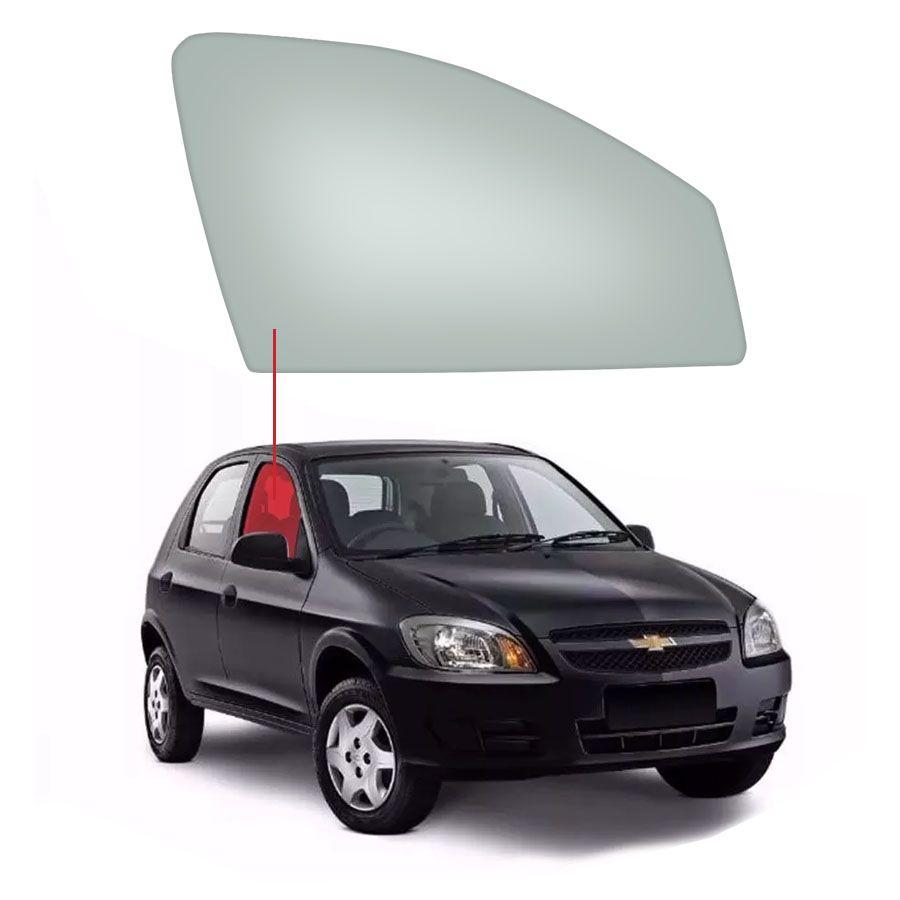 Vidro Porta Dianteira Direita Chevrolet Celta 00/11 / Prisma 06/12 Tritemp