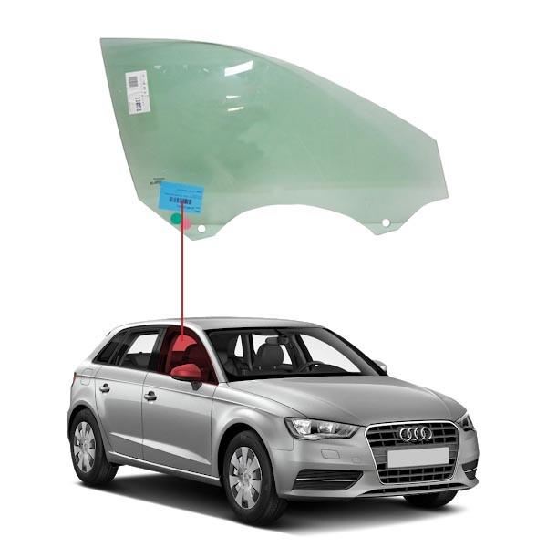 Vidro Porta Dianteira Direita Audi A3 13/16