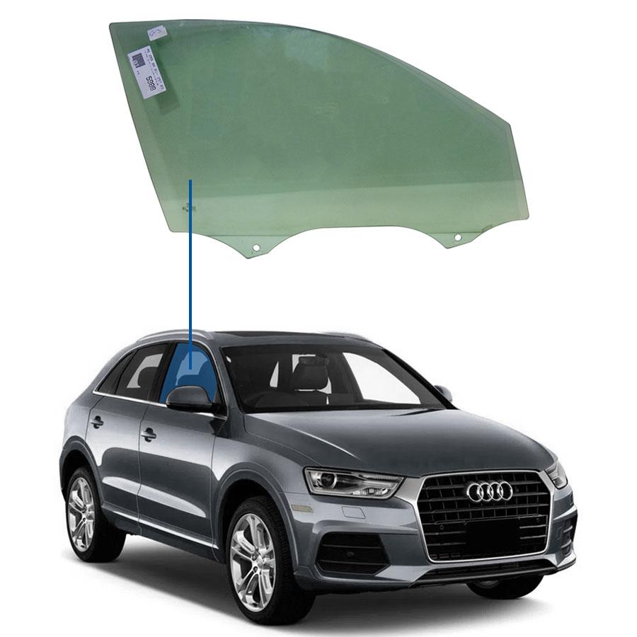Vidro Porta Dianteira Direita Audi Q3 11/18 Importadora