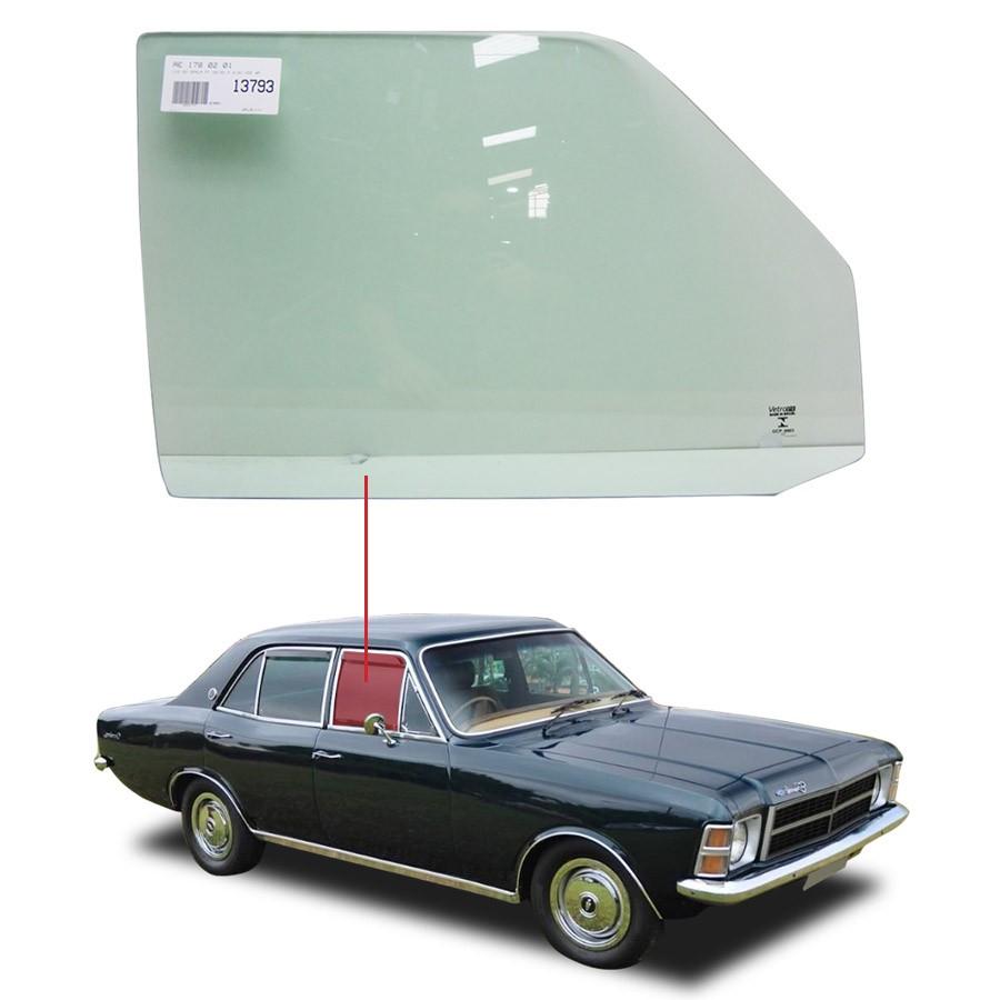 Vidro Porta Dianteira Direita Chevrolet Opala 68/92 Vetroex