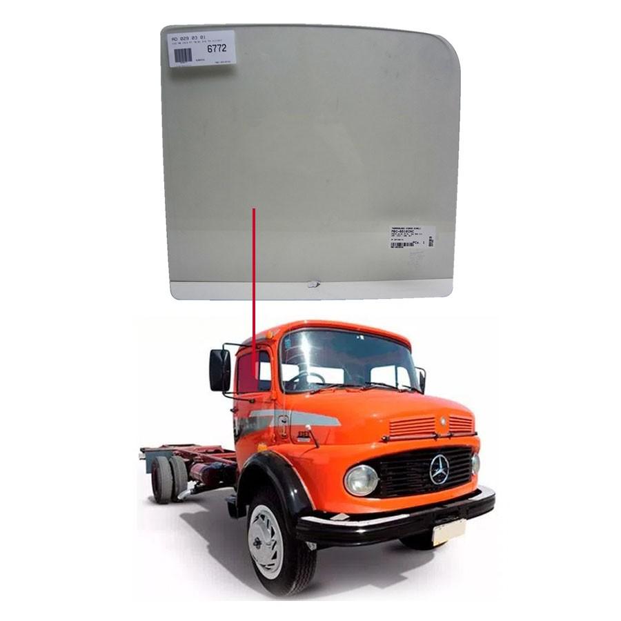 Vidro Porta Dianteira Direita/Esquerda Mercedes Benz 1313 70/01 / 1113 70/72 / 1525 - Cabine Alta Glasstech
