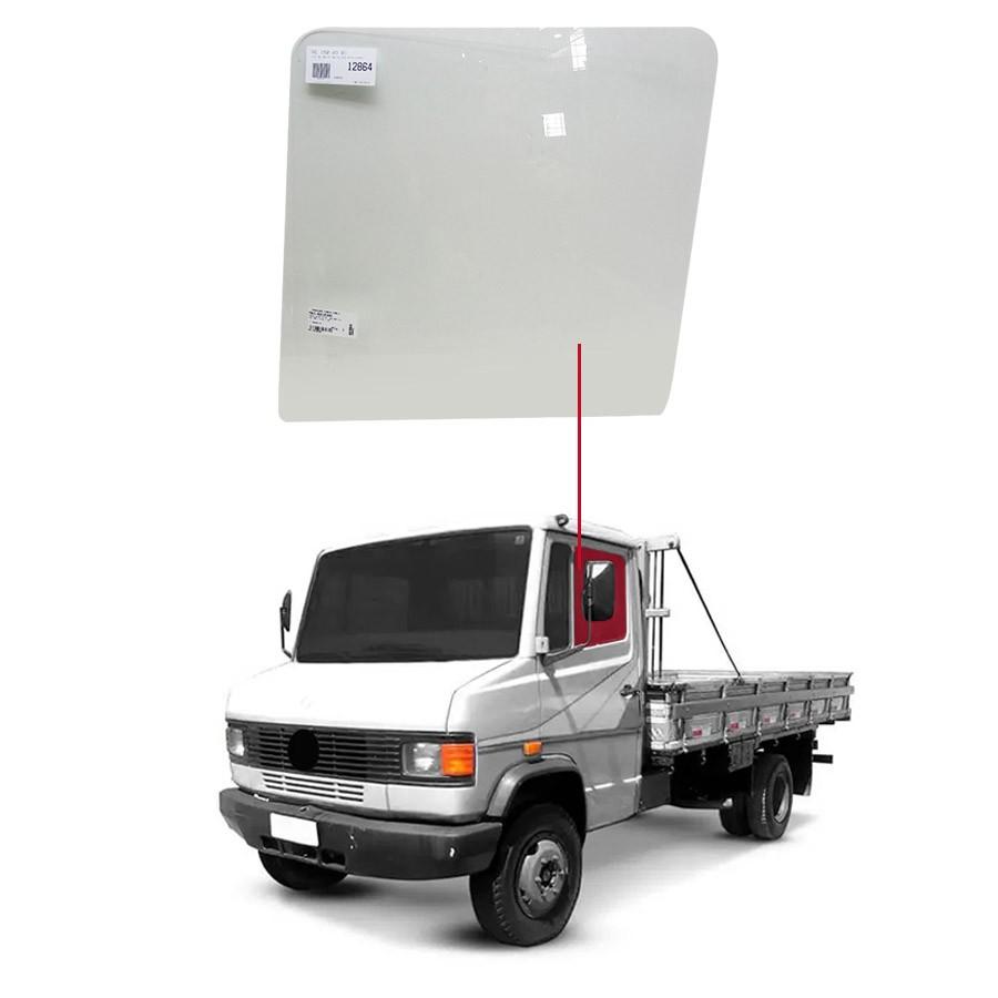 Vidro Porta Dianteira Direita/Esquerda Mercedes-Benz 709 88/99 / 1718 88/99 / 1418 88/99 / 1214  88/99 Glasstech