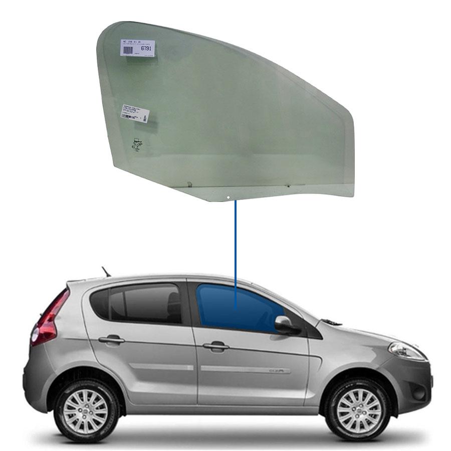 Vidro Porta Dianteira Direita Fiat Palio 12/18 / Grand Siena 12/18 Glasstech