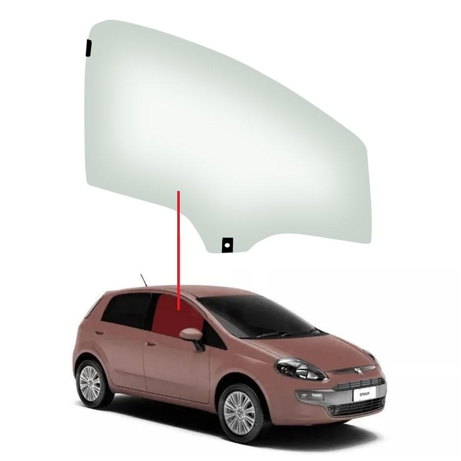 Vidro Porta Dianteira Direita Fiat Punto 07/17 / Linea 07/17 Saint Gobain