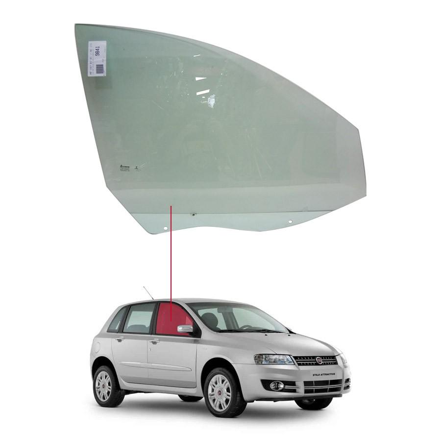 Vidro Porta Dianteira Direita Fiat Stilo 02/11 Tritemp