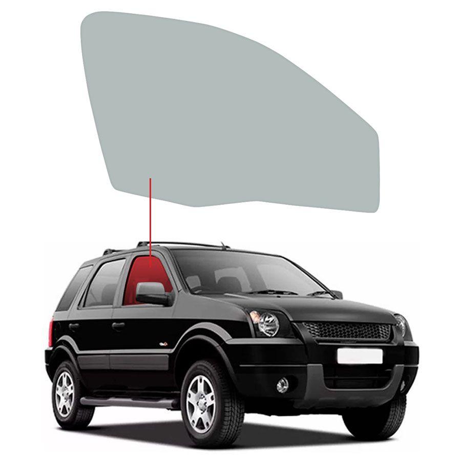 Vidro Porta Dianteira Direita Ford EcoSport 03/12 Tritemp
