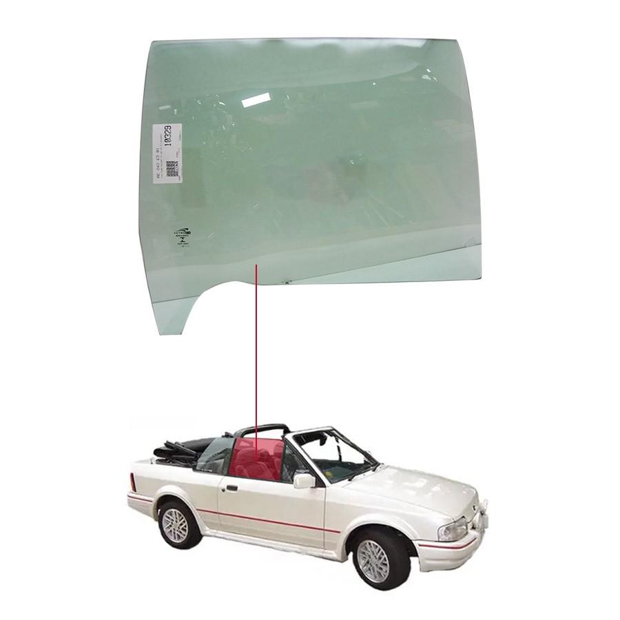 Vidro Porta Dianteira Direita Ford Escort 83/93 Vetroex