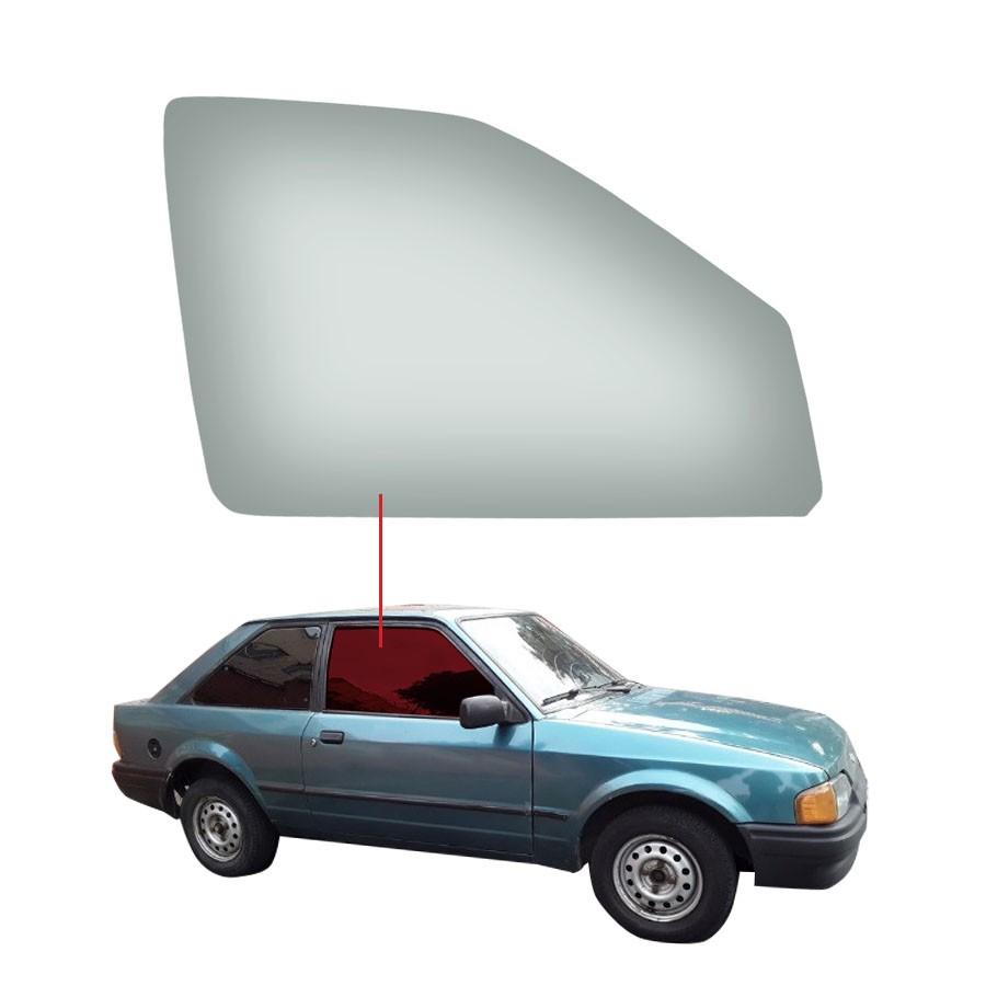 Vidro Porta Dianteira Direita Ford Escort 91/97 / Escort Station Wagon 98/01 / Pointer 91/97 Vetroex