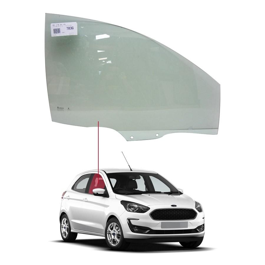 Vidro Porta Dianteira Direita Ford Ka+ 14/20 Tritemp