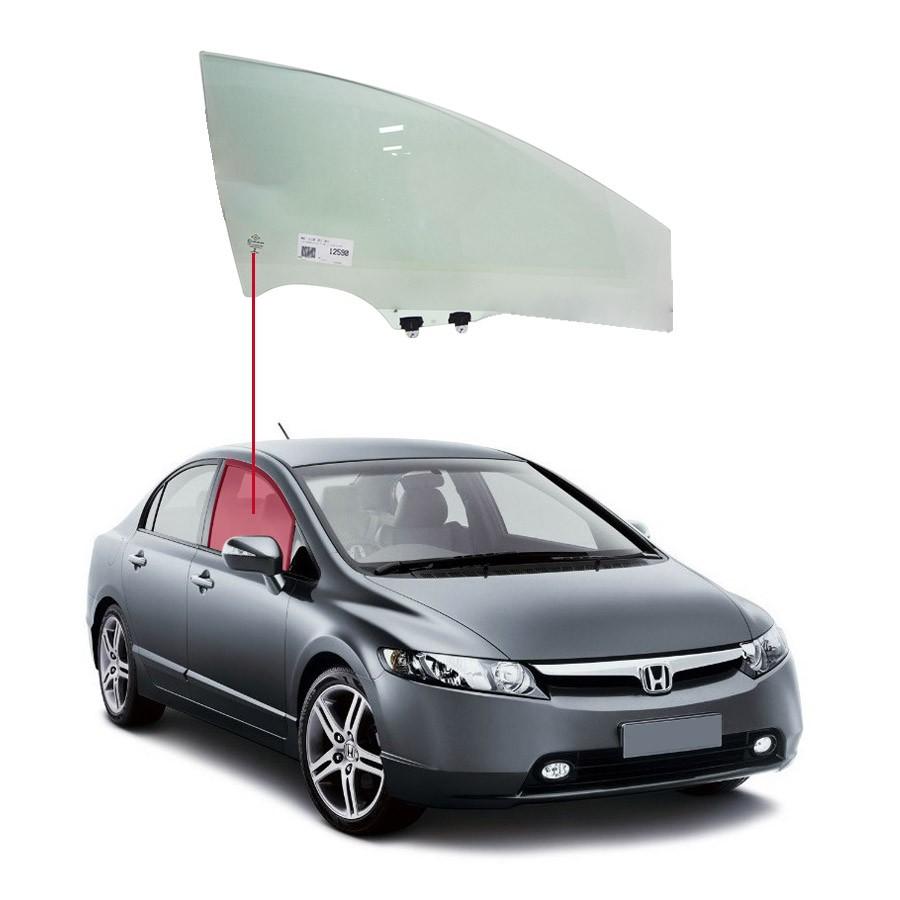 Vidro Porta Dianteira Direita Honda Civic 06/11 AGC