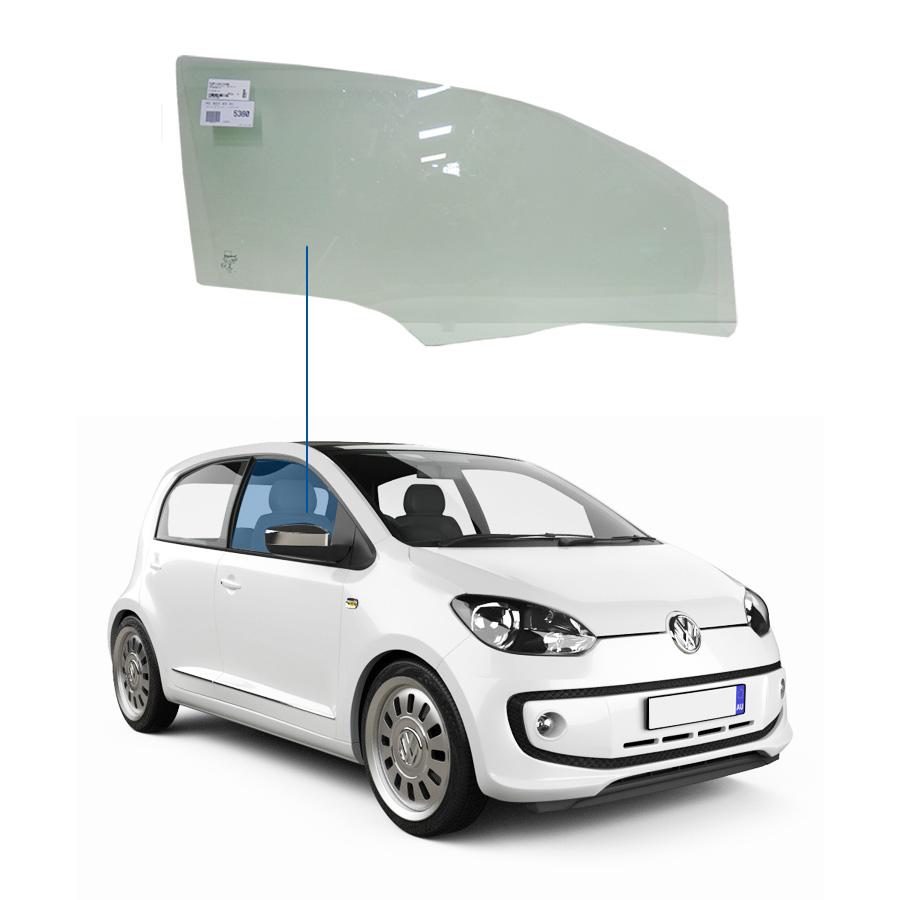 Vidro Porta Dianteira Direita Volkswagen Up! 14/20 Glasstech