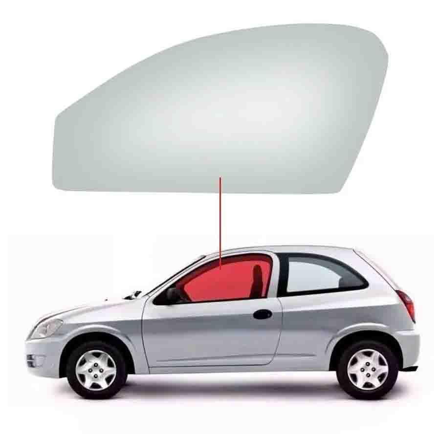 Vidro Porta Dianteira Esquerda Chevrolet Celta 00/15 Tritemp