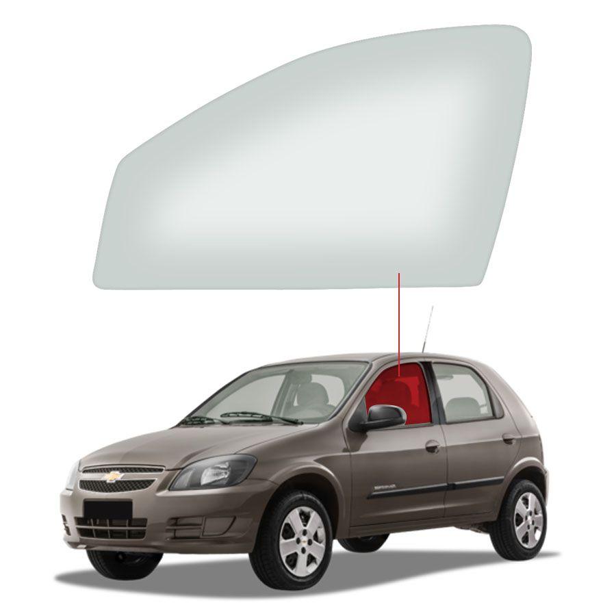 Vidro Porta Dianteira Esquerda Chevrolet Celta 00/11 / Prisma 06/12Tritemp