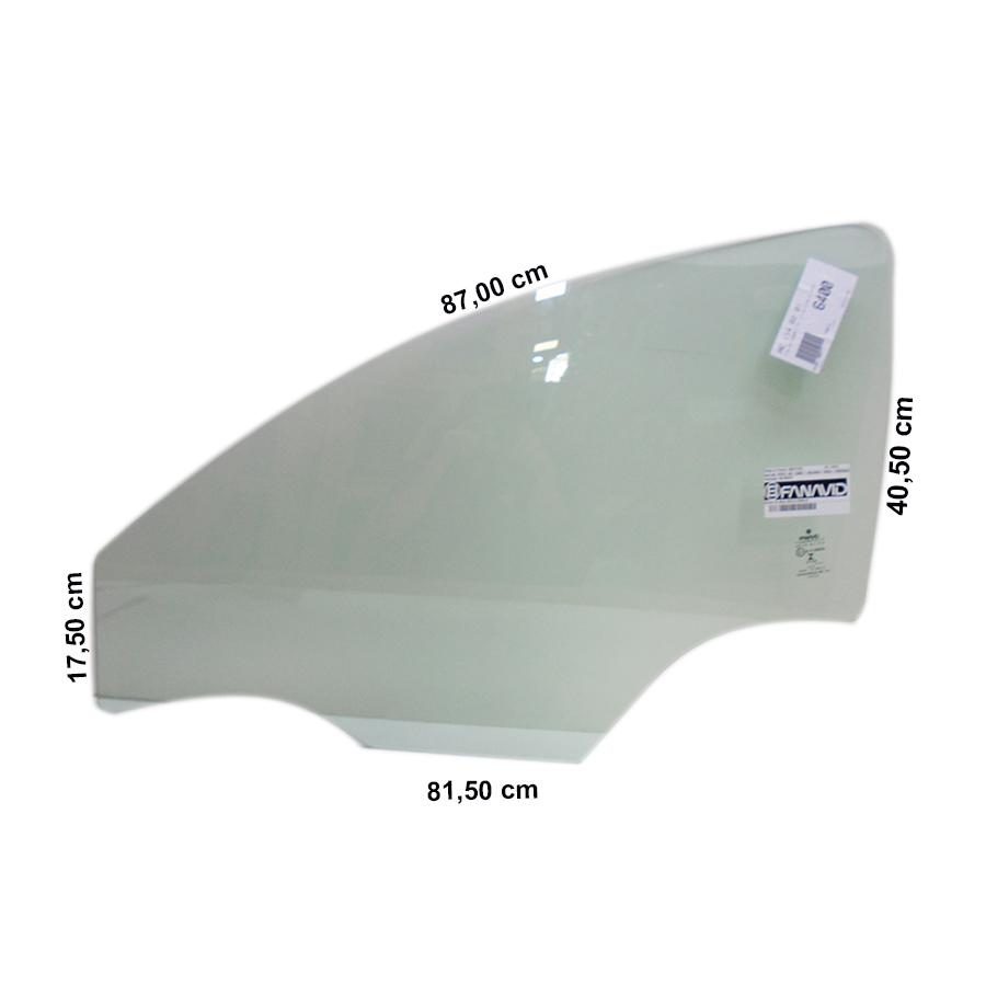 Vidro Porta Dianteira Esquerda Chevrolet Cobalt 11/16 Fanavid