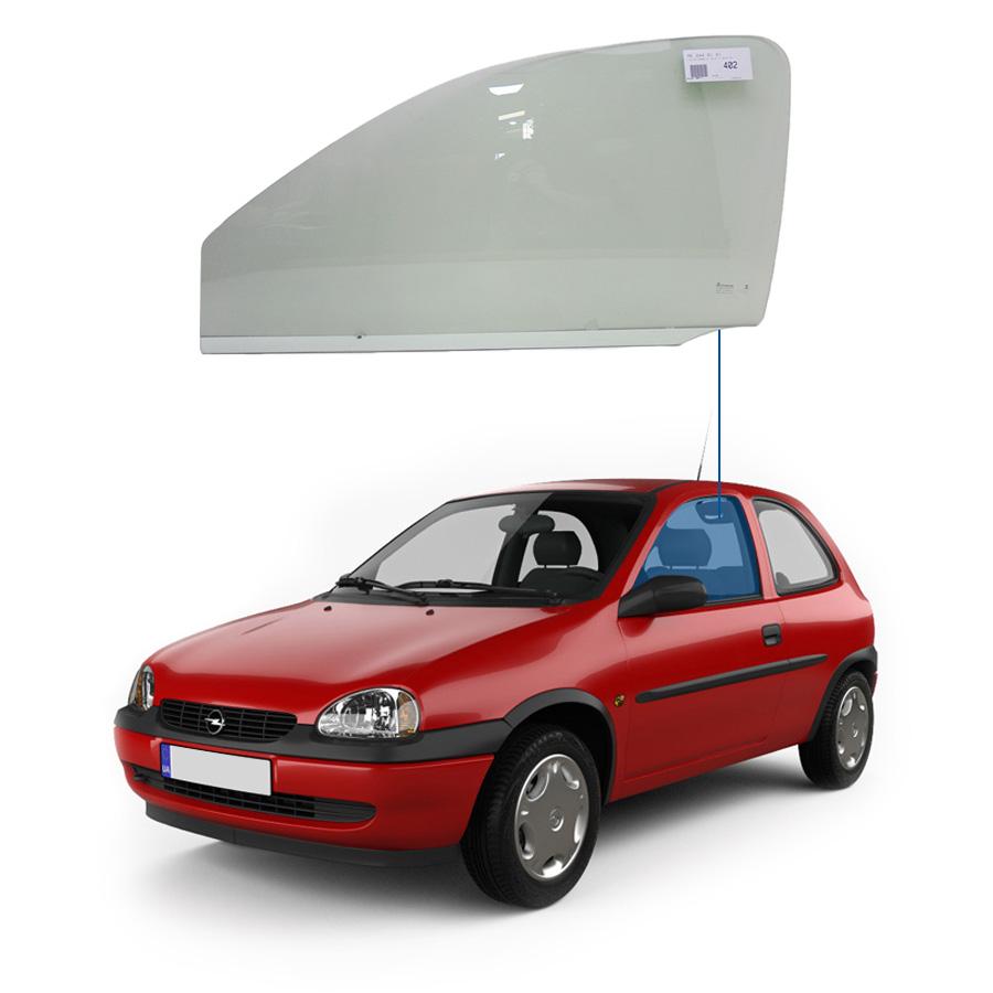 Vidro Porta Dianteira Esquerda Chevrolet Corsa 93/01 Tritemp