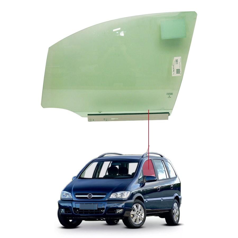 Vidro Porta Dianteira Esquerda Chevrolet Zafira 01/12 Saint Gobain